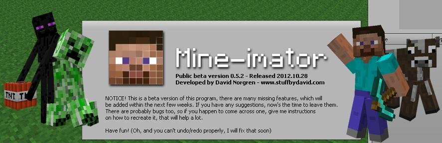 Как создать мультик в mine-imator бета